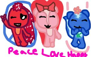 peace love happyness by 222222555555
