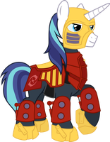Shining Armor as Jaller (Stand Alone) by ShadyHorseman