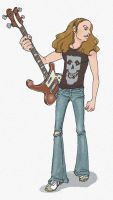 Cliff Burton5 by geum-ja1971