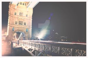 Tower Bridge at Night 002, London by TheLovingKind89