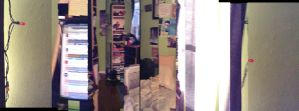 My Room: A Panorama Gone Wrong by MegaBunneh