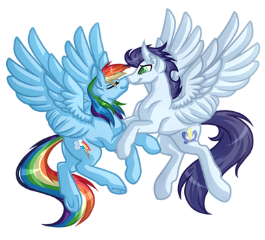 .:Request:. SoarinDash by Amazing-ArtSong