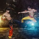 Tekken - Jin vs Law, who win? by vaxzone