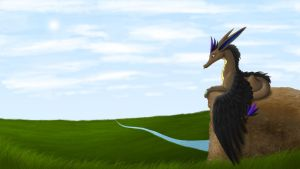 Falco Overlooking Huyni by RadioactiveBirds
