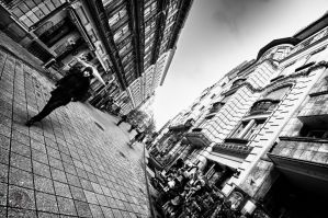 Budapest Pedestrian Street HDR by Creative--Dragon