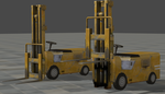 Forklift - Rigged - Small Update by ProgammerNetwork