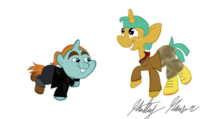 Snips and Snails as Bulk and Skull by KathyHauser