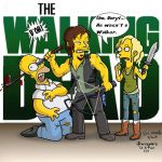 The Walking D'OH! by Eric Keyes by THE-Darcsyde