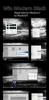 Win Modern Black for Win 7 by TiborioART