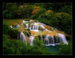 Krka River by klaic