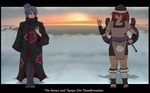 The Konan and Tayuya Oni Transformation I by Chronorin