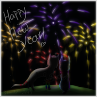 Happy new year! by Sisa611