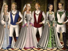PPG and RRB in Tudor Times Wedding Day by bre1