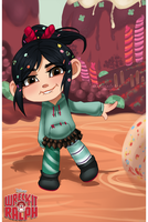 Vanellope by mintwinter