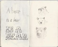 a bear is a bear is a bear by like-textas