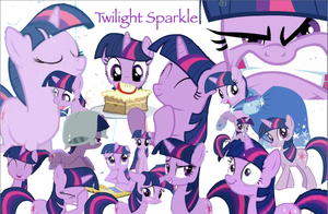 Twilight Sparkle Wallpaper by mariokinz