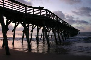 Sunset Pier 9931742 by StockProject1