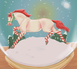 Candycane Thoroughbred by Candy-Hen