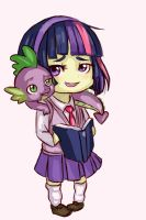 Mlp Chibi Set 2: Twilight Sparkle by SimonAdventure