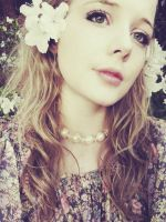 With Love in Her Eyes and Flowers in Her Hair by skinagainstface