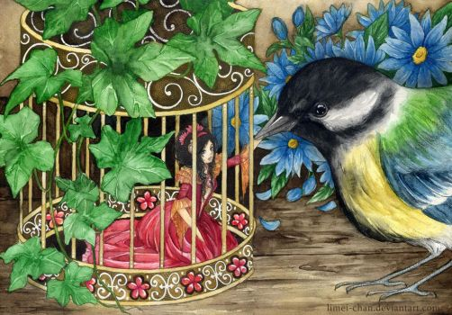 Birdcage by Limei-chan