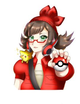 Gaia Online Commission alternate pokeball by Kitnami