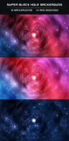 Super Black Hole Backgrounds by DeepBlueDesigns