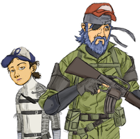 Clem and Kenny by ProfessionalGoodbye