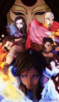 Legend of Korra by RhIVenX