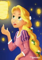 Rapunzel My First  touch Wacom by Studio-Dmoon
