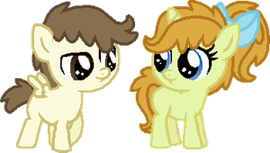 Five Year Old Pound and Pumpkin by StarryOak