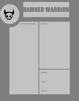 Blank Dammned Warrior App by rayne-storme