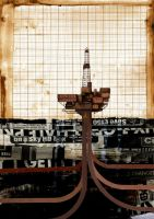 Oil Rig by S-2