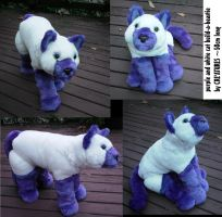 Cat Build-a-Beastie soft toy by Rahball