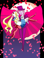 Sailor Fiona and Tuxedo Gumball by ScrapCity