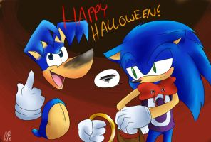 Happy Halloween- by Chicaaaaa