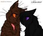 Midnightshadow x Obsidianstar by alexlk4