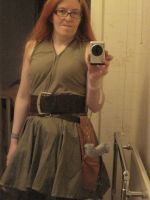 River Song DotM W.I.P. dress by LuciaDuvant