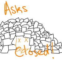 Ask box closed! D: by Ask-orange-linkette