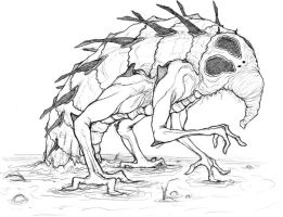 Swamp Creature by Inaaca