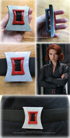 Black Widow's Belt Buckle by BrittyDee