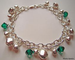 Bell Anklet by SkillfulCreations