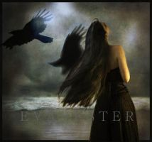 Crows night... by EVAVESTER