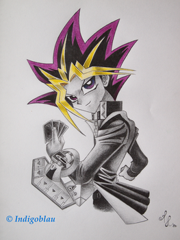 Yu-Gi-Oh! It's time to duel by Indigoblau