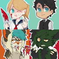 weeaboo icons by Bosie2000
