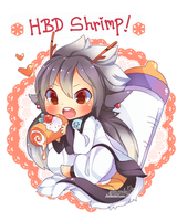 Hbd ShrimpHEBY! by Skunkyfly