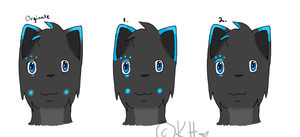 :OC Icefang: New head design ? by IronMeow