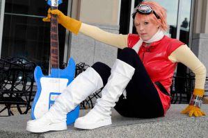 Haruko Haruhara - FLCL by popecerebus