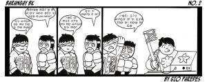 Baybayin Comic strip no.1 by Akopito