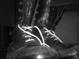 Skinhead Boots by patojv